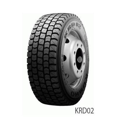 Anvelopa CAMION KUMHO Krd-50 Tractiune Regional - Garantie 5 Ani - Korea 245/70 R 19.5 137m