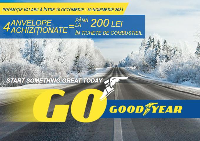 Bucură-te de oferta noastră la anvelopele de iarna Goodyear!